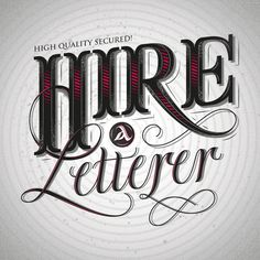 Hypnotic Letterings by Enisaurus (London, United Kingdom)  Hypnotic letterings is a project that plays with the union of classic letterings and visual effects in motion to get the feel that you are being hypnotized. It's funny to think that if you see the letters, you will do what the messages order. This is the concept.