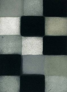 """Barcelona Robe""  by hard edge painter Sean Scully who is an Irish-born American painter and printmaker who has twice been named a Turner Prize nominee. His work is collected in major museums worldwide."