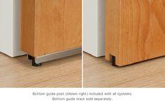 sliding barn door bottom guide | Door Designs Plans