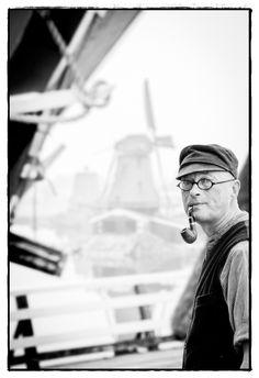 """Müller auf der Mühle """"De Kat"""" Zaanse Schanz, NL  © JoeiGraphie.de 2014"""
