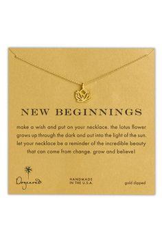 'Reminder - New Beginnings' Pendant Necklace