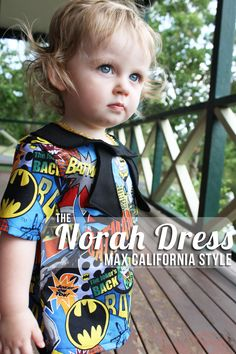 64876cfe2473 The Norah Dress - batman-ified! Sewing Diy