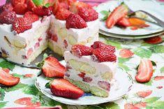 Koskacukor: Görög joghurtos eper torta
