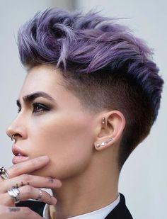Einfache Frisuren für kurzes Haar 2018-2019. Pixie Haarschnitte