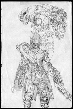 ArtStation - Drawing Note - 04, Jong Hwan