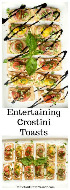 Entertaining Crostini Toasts