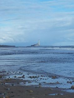 Whitley Bay lighthouse!