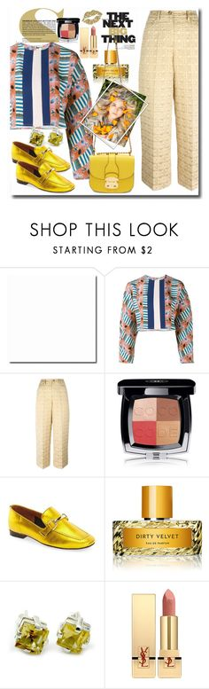 """Untitled #520"" by pesanjsp ❤ liked on Polyvore featuring Tata Naka, RED Valentino, Chanel, Topshop, Vilhelm Parfumerie, NOVICA, Yves Saint Laurent and Miu Miu"