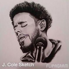 ♫ J. Cole - No Role Modelz Sketched by me  - http://flipagram.com/f/Yx5RAi4tJN