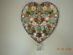 """My Junk Jewelry """"Heart Art"""" - JUNKMARKET Style"""