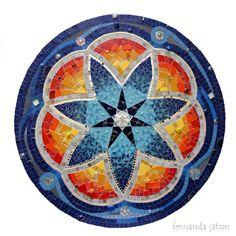Mandala de fj Mosaic Art