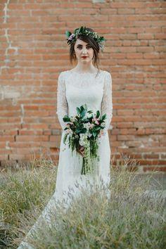 Industrial and Bohemian Wedding in Phoenix
