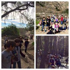 Hiking in Eaton Canyon ... We love it!
