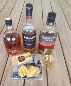 Whisky and Mature Gouda Pairing Millstone Dutch Whisky, Tomatin 12 yo and Highland Park 18 yo #whiskycheesepairing