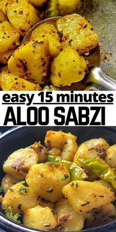 Indian Food Recipes, Vegetarian Recipes, Ethnic Recipes, Savoury Recipes, Veg Recipes, Indian Curry Vegetarian, Recipe Without Onion, Sabzi Recipe, Dried Potatoes