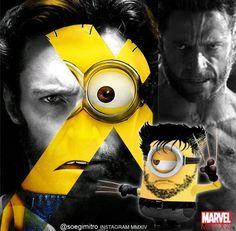 X-Men Minions are coming! IG @soegimitro ~ Wolverine