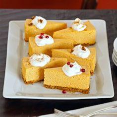 No-Bake Pumpkin Cheesecake - EatingWell.com