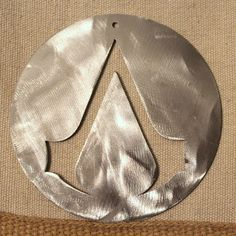 Assassins Creed Ornament by StarBeeMetalCraft on Etsy