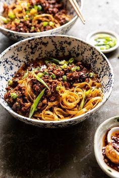 Better Than Takeout Dan Dan Noodles. Better Than Takeout Dan Dan Noodles. New Recipes, Cooking Recipes, Healthy Recipes, Healthy Food, Amish Recipes, Dutch Recipes, Water Recipes, Grilling Recipes, Recipies