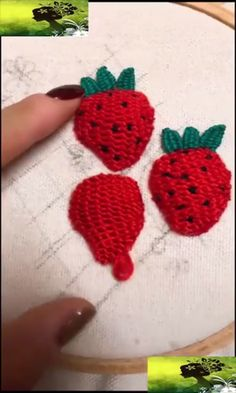 kreative Nähideen - New Ideas Hand Embroidery Videos, Hand Embroidery Designs, Embroidery Techniques, Embroidery Thread, Sewing Hacks, Sewing Crafts, Sewing Ideas, Rose Crafts, Make Do And Mend