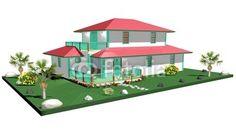 #Creole #Architecture #3d > #Exotic Creole #House-#Home © bluedarkat