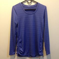 Blue Dri-Fit Long Sleeve Athletic Shirt Long sleeve, not lined. Tag has been removed. Size Medium. In good condition! Danskin Tops Tees - Long Sleeve