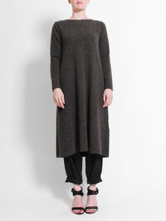 Evam Eva Racoon Wool One Piece - Charcoal « Pour Porter