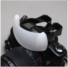 """Gary Fong Puffer - Pop-Up Flash Diffuser - I could so use this!!!! Update: Mine arrived last week, I did use it and it works just like it was described - and I like it... I make no more apologies to the """"purists"""" out there."""