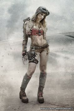 Perry Rhodan Submit-Apocalyptic steampunk lady Casual Wedding ceremony Clothes A current survey reve Apocalypse Costume, Apocalypse Fashion, Apocalypse Art, Apocalypse Character, Post Apocalyptic Clothing, Post Apocalyptic Costume, Post Apocalyptic Fashion, Mad Max Costume, Mad Max Cosplay