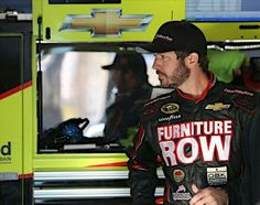 Martin Truex Jr. in his Furniture Row Racing Gear for the first time. #NASCAR