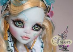 New OOAK Monster High Lagoona Blue Custom Repaint by Rogue Lively | eBay