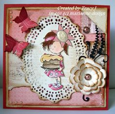 Daisy and her cake by Tracy Jackson  http://stampingseasons.blogspot.nl/