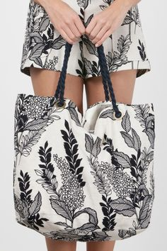 Beach Bag Caribe Pop estampada da Canal Concept