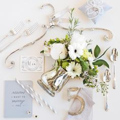 """""""The color of moonlight, twinkling stars and your grandma's favorite serving dish- Silver is a quietly sophisticated choice for your wedding decor."""