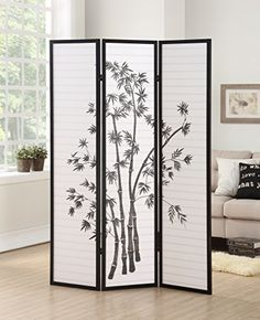 3-panel room divider screen with fiberglass-like heavy duty rice paper; Japanese-inspired room divider for creating privacy in small spaces, lightweight but stable frame made of wood with black finish. How To Play Golf Today, in order to play a great game of golf it simply isn't enough to head o... more details available at https://furniture.bestselleroutlets.com/accent-furniture/room-dividers/product-review-for-roundhill-furniture-3-panel-oriental-shoji-room-divider-screen