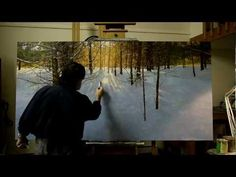 ▶ Peter Fiore Painting The Cathedral - YouTube