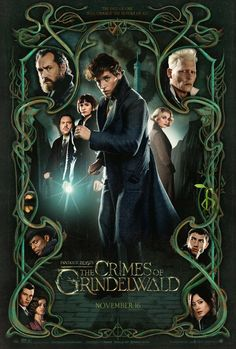Johnny Depp, Jude Law, and Eddie Redmayne in Fantastic Beasts: The Crimes of Grindelwald Harry Potter Universal, Harry Potter Movies, Harry Potter Fandom, Harry Potter World, The Beast, Fantastic Beasts Movie, Fantastic Beasts And Where, Crimes Of Grindelwald, Jude Law