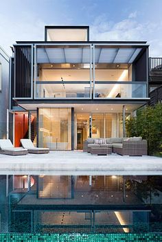 woollahra 1 rear elevation by stanic harding architecture + interiors
