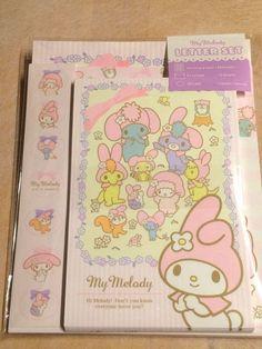 My Melody Sanrio Letter writing set  Free shipping JAPAN KAWAII 2015 New design