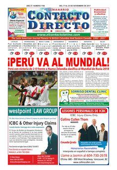 SEMANARIO CONTACTO DIRECTO EDICIÓN  11/17/2017
