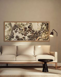 5 Budget Friendly Ways To Try The Large Wall Art Decor Trend Mid Century Modern Living Roomliving