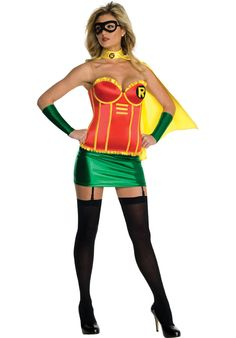 Sexy Robin Corset Costume - Superhero Costumes at Escapade™ UK - Escapade Fancy Dress on Twitter: @Escapade_UK