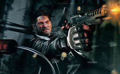 It's official: The Punisher is getting his own TV series.  EW has learned that Marvel has ordered a spin-off starring vigilante character introduced in Daredevil season 2.  Jon Bernthal will reprise his role as vengeful military veteran Frank Castle, who brings his own lethal form of justice to Hell's Kitchen.  Writer and executive producer Steve Lightfoot (Hanniba, Casualty) will serve as showrunner.