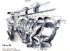 Vol Paris-Mykonos, Easy Jet, juillet 2014