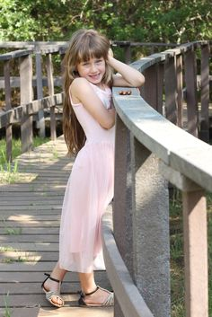 Beautiful child pose
