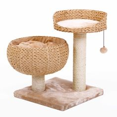 PetPals Group Nesting Area Cat Furniture...he would love this. and I like the design.