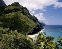 Included in the list of 7 of the best running trails in America - Kalalau Trail, Kauai, Hawaii