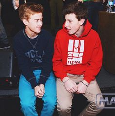 Jack is looking at Shawn like he is his whole world