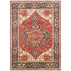 ecarpetgallery Hand-knotted Serapi Heritage Brown Wool Rug (8'10 x 12') - 18590851 - Overstock.com Shopping - Great Deals on Ecarpetgallery One Of A Kind Rugs