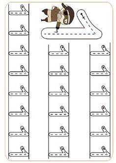 Pre-School Numbers Line Studies (New) - Preschool Children Akctivitiys Pre K Worksheets, Kindergarten Math Worksheets, Writing Worksheets, Preschool Activities, Preschool Writing, Numbers Preschool, Preschool Lessons, Kindergarten Portfolio, Math For Kids